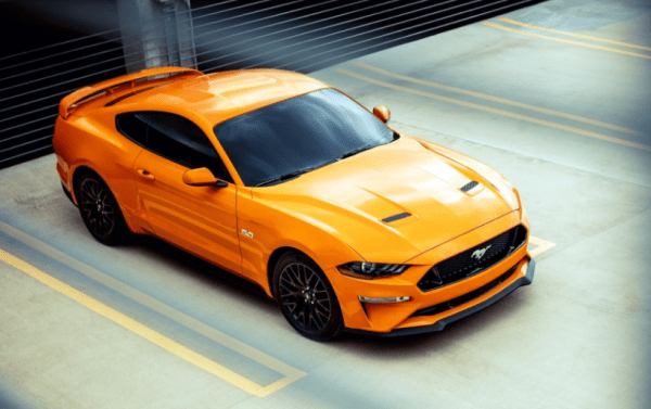 2018 Ford Mustang above review