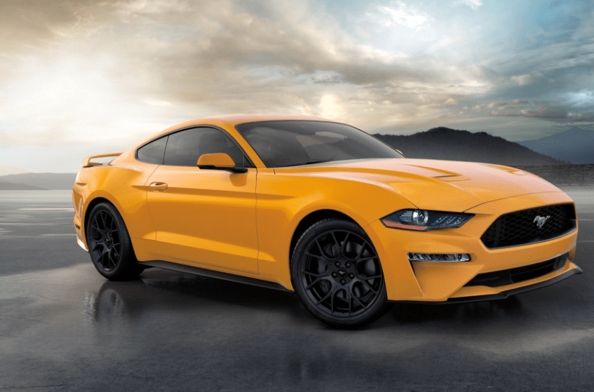 2018 Ford Mustang Side View