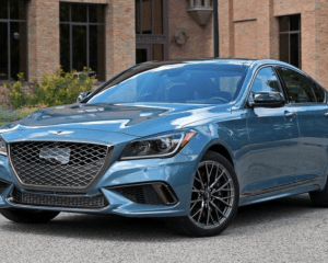 2018 Genesis G80 Sport Front View