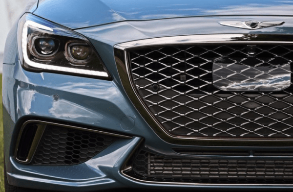 2018 Genesis G80 grille review