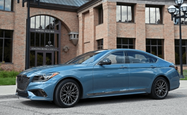 2018 Genesis G80 side review