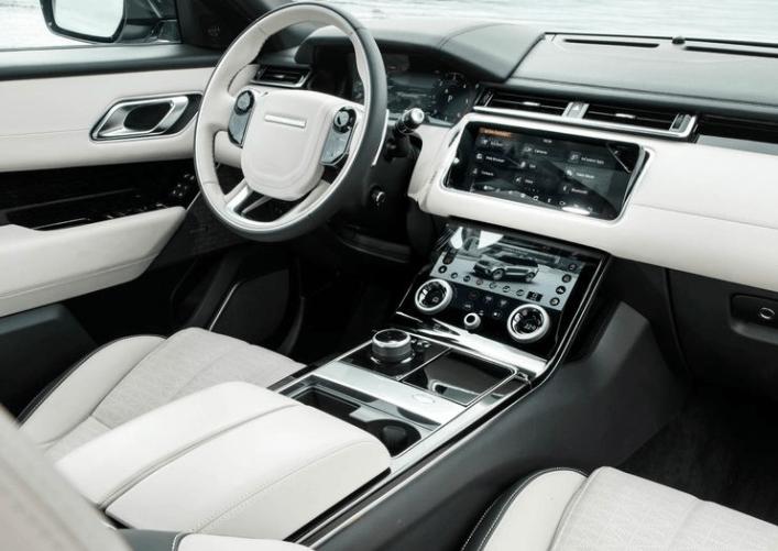 2018 Ranger Rover Velar Dashboard View