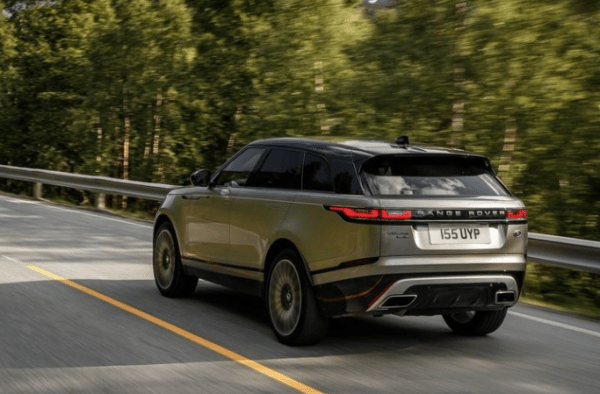 2018 Range Rover Velar rear review