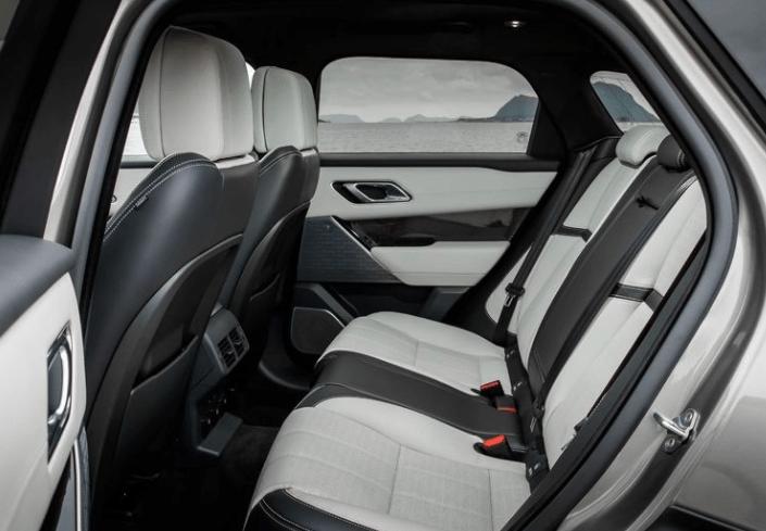2018 Ranger Rover Velar Rear Seats View