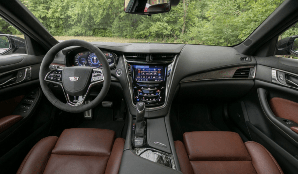 2018 Cadillac CTS dashboard steering wheel review