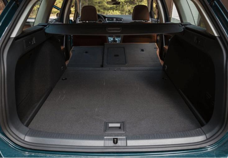 2018 Volkswagen Golf Alltrack Cargo Space View
