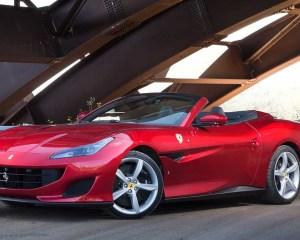 2018 Ferrari Portofino Front View