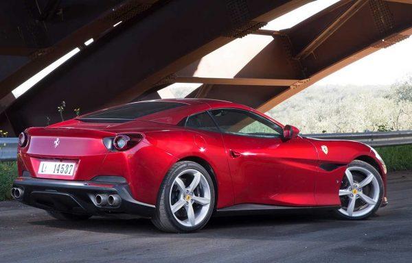 2018 Ferrari Portofino side exterior rear review