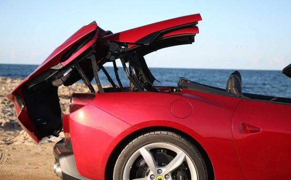 2018 Ferrari Portofino top up review exterior