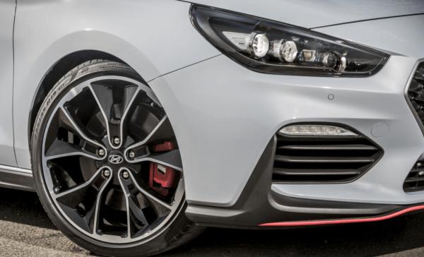 2018 Hyundai i30 N wheel review