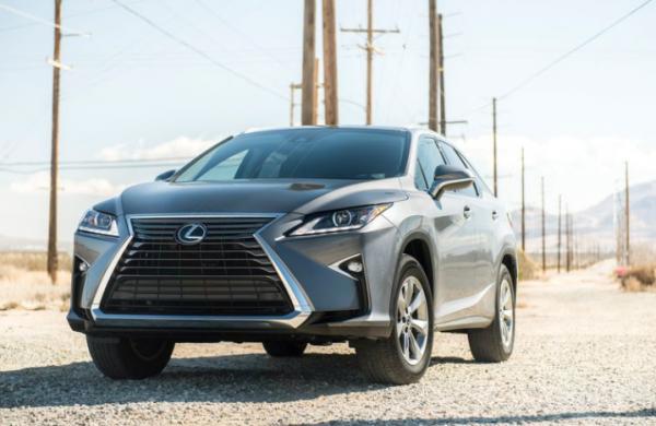2018 Lexus RX350L front review