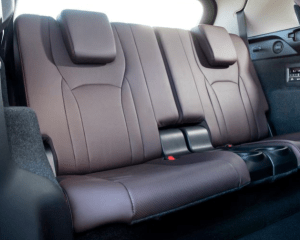 2018 Lexus RX350L Rear Seats View