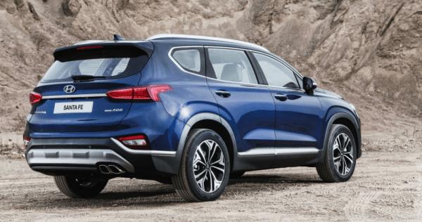 2019 Hyundai Santa Fe rear review
