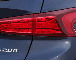 2019 Hyundai Santa Fe SUV Rear Lights View