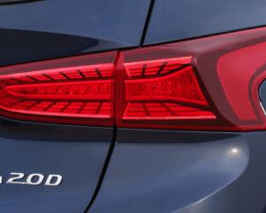 2019 Hyundai Santa Fe SUV Rear Lights View