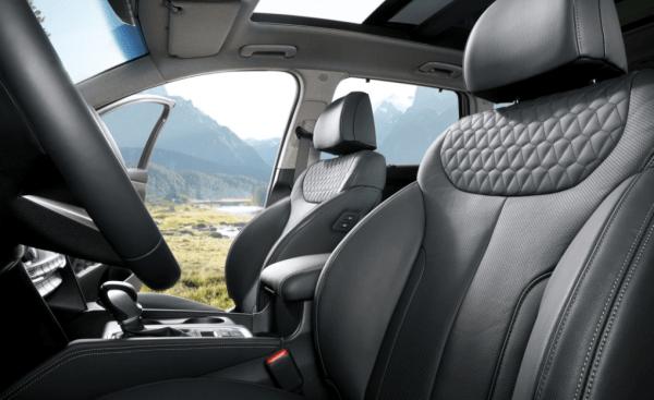 2019 Hyundai Santa Fe seat review