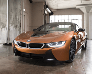 2019 BMW i8 Front Exterior View