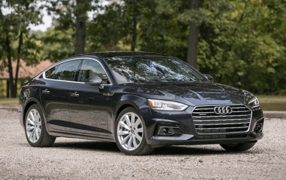 2018 Audi A5 Front View