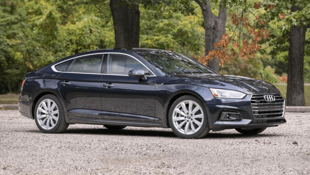 2018 Audi A5 Side View