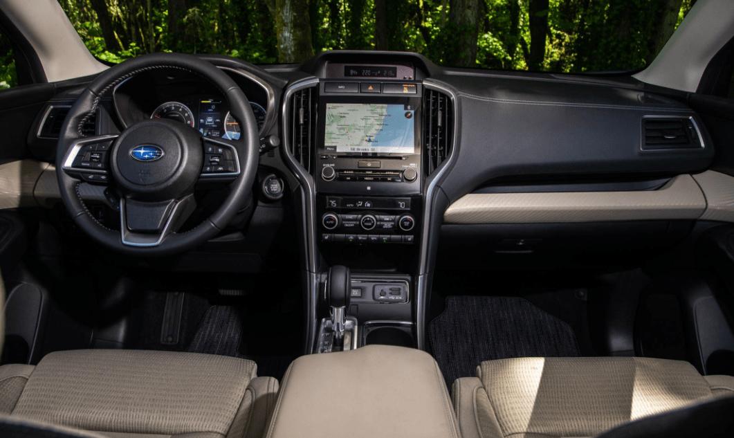 2019 Subaru Ascent Dashboard View