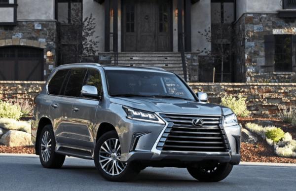 2018 Lexus LX570 Front review