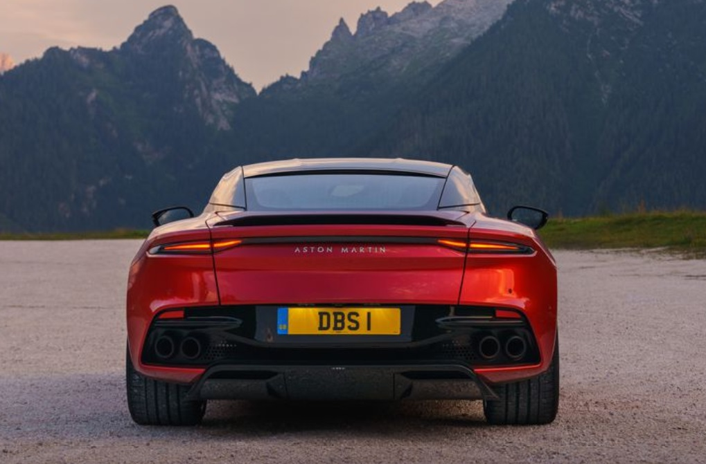 2019 Aston Martin DBS Superleggera Rear View