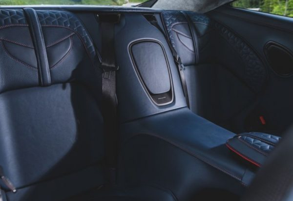 2019 Aston Martin DBS review rear seats