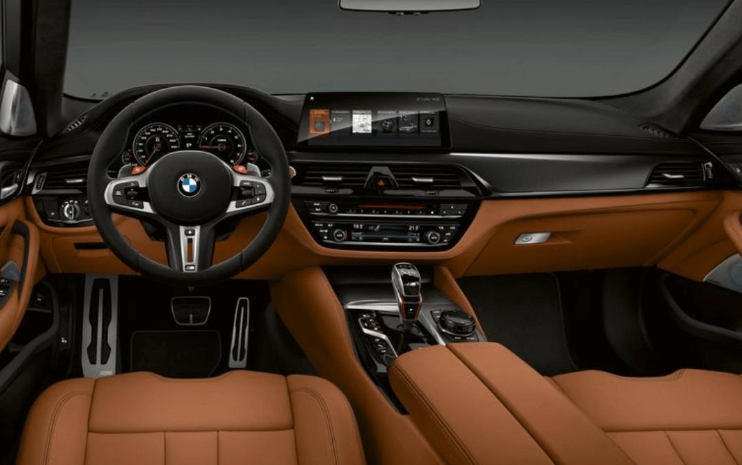 2019 BMW M5 Dashboard View