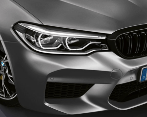 2019 BMW M5 Front Lights View
