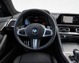 2019 BMW 850i Dashboard View