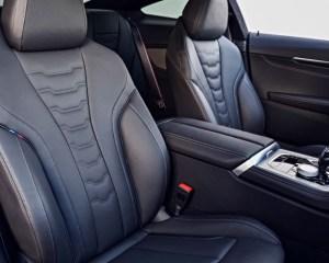 2019 BMW 850i Seat View