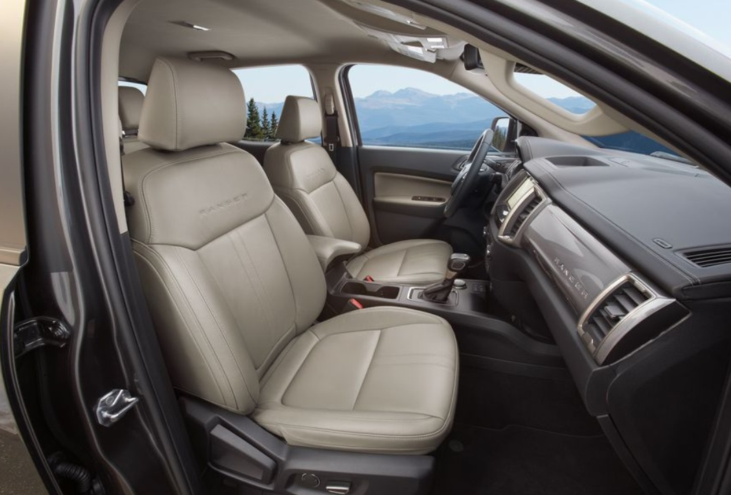 2019 Ford Ranger front seats review