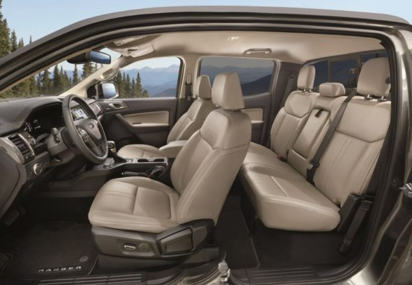 2019 Ford Ranger seats review
