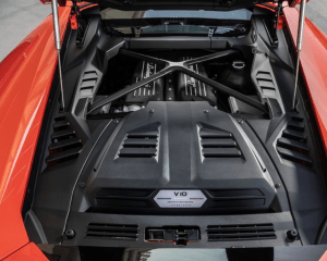 2020 Lamborghini Huracan Evo Engine View