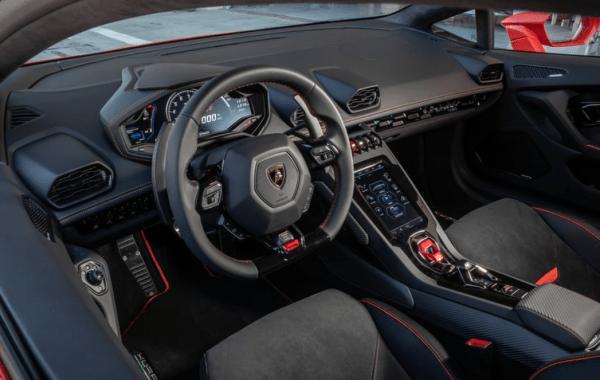 2020 Lamborghini huracan evo steering review