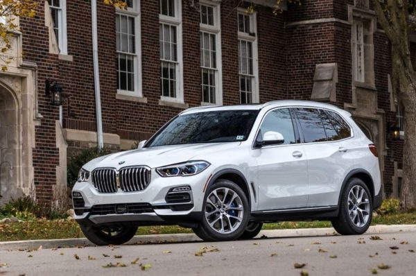 BMW X5 front review 2019