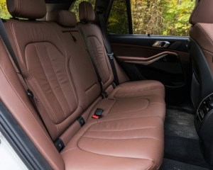 2019 BMW X5 Rear Seats View
