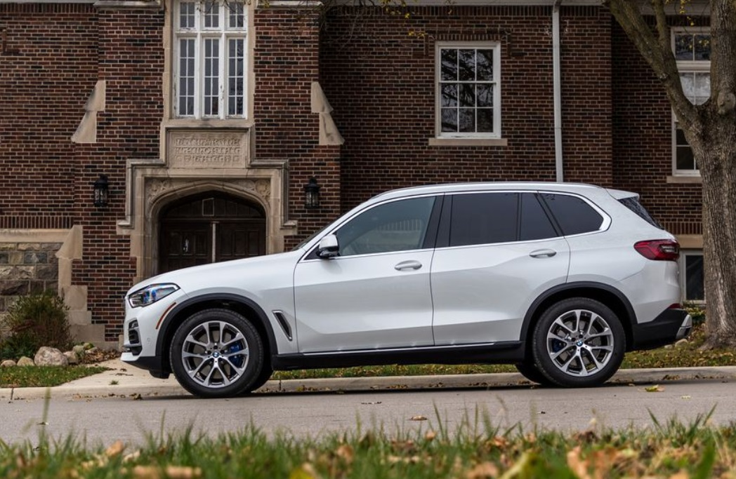 2019 BMW X5 side review