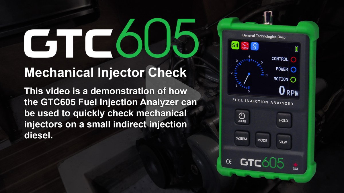 GTC605-Mechanical-Injector-Check-Title-Img