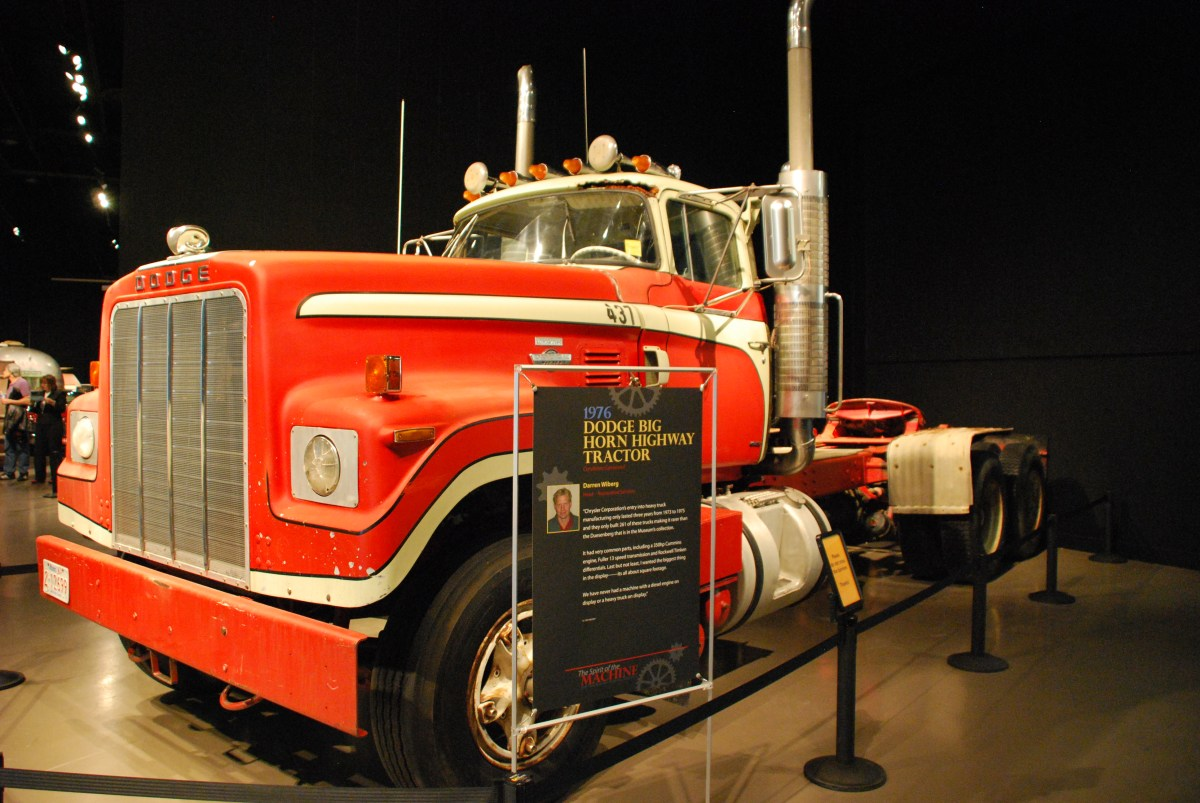 1976 Dodge Big Horn Highway Tractor – Grand Touring Concepts
