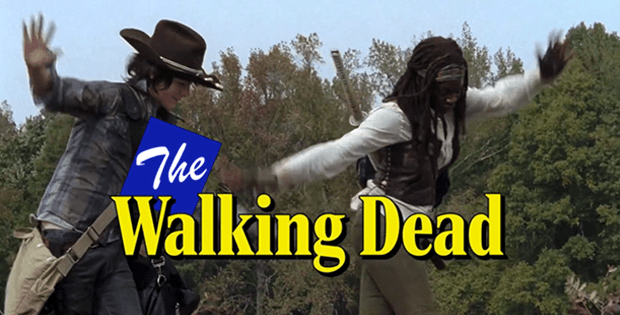 The Walking Dead Theme from the 1980s