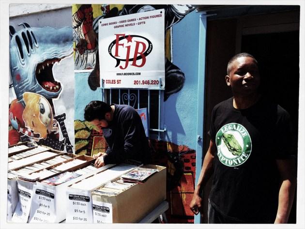 Floyd Bennett, Owner of FJB Comics