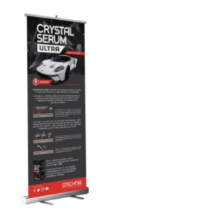 Crystal Serum Light Roller Banner