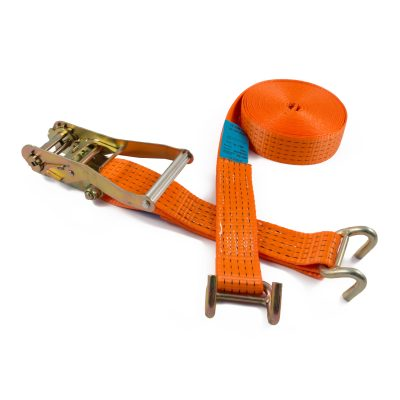 RL50HDRB - 50mm 5000kgs Ratchet Strap with heavy duty rave hook