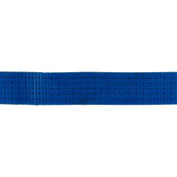 WB5075BE5 - 50mm 7500kgs Blue Polyester Webbing