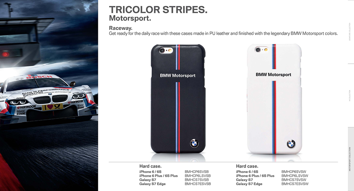 BMW 2016 motorsport collection pu leather 1