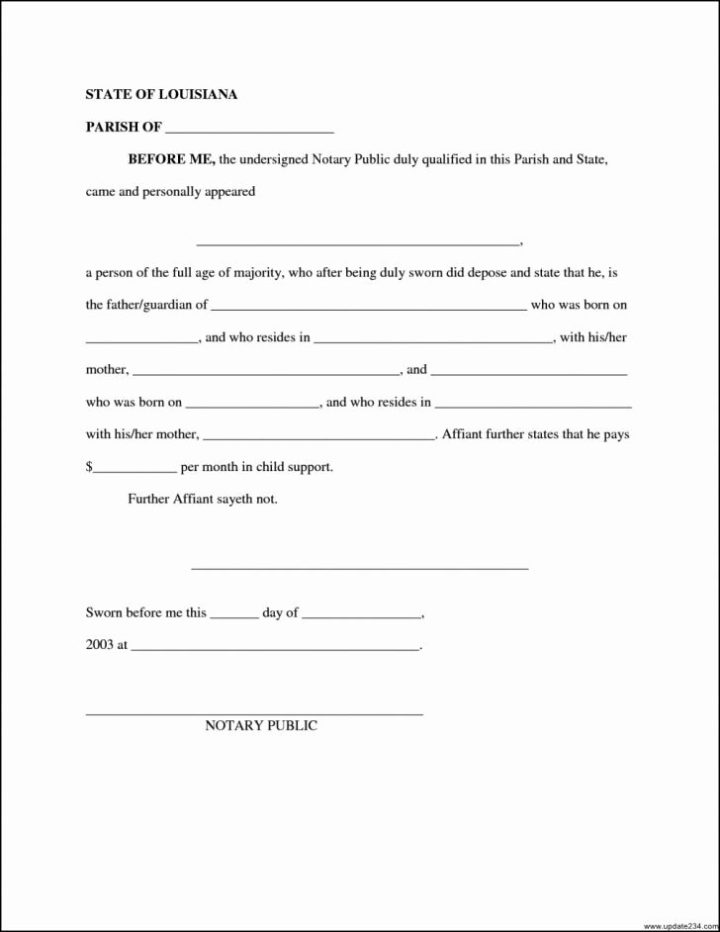 Child Support Agreement Letter Sample Lettersonline Co