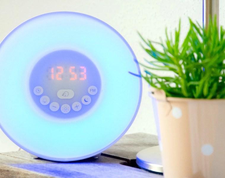 Test lampe de réveil Amir