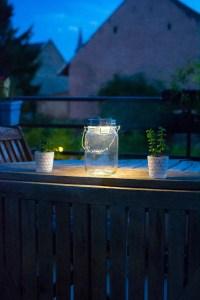 sonnenglas avis lampe solaire consol solar jar