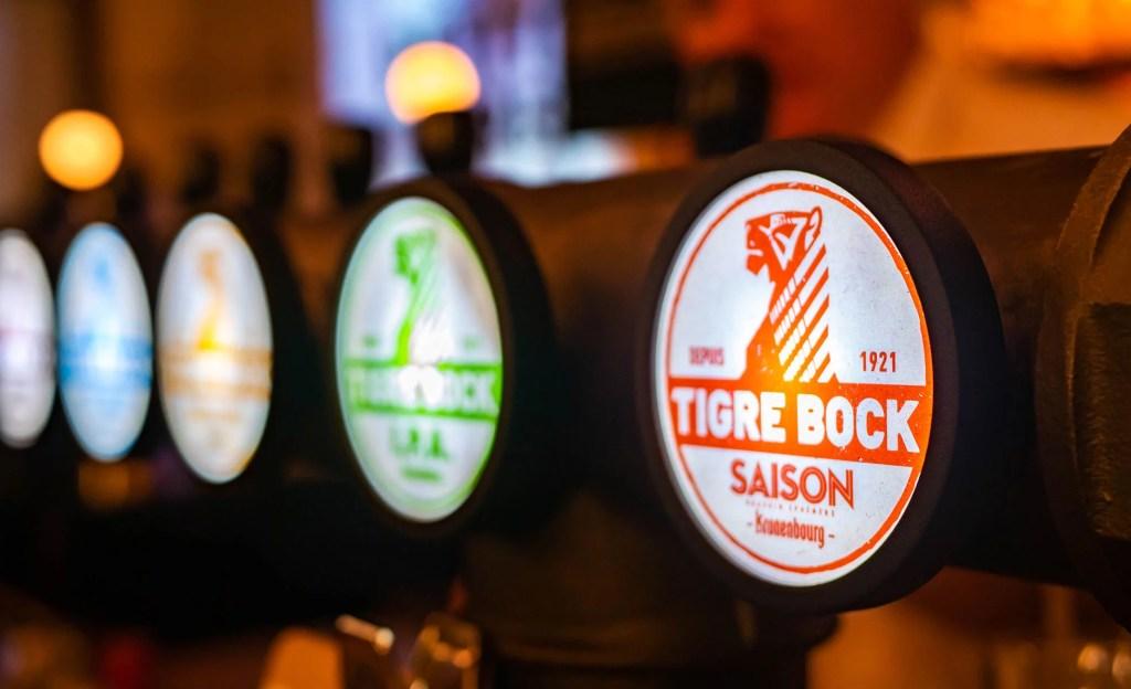 tigre bock strasbourg restaurant brasserie biere